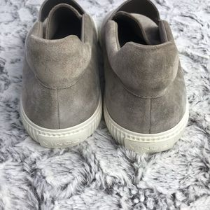 Vince Shoes - Vince Slip-On Suede Leather Sneakers Size 9.5 NWOB